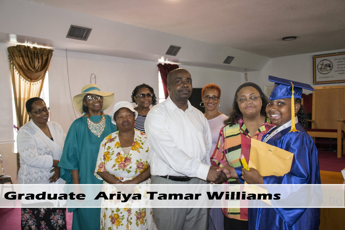 Slide 1: Graduate Ariya Tamar Williams