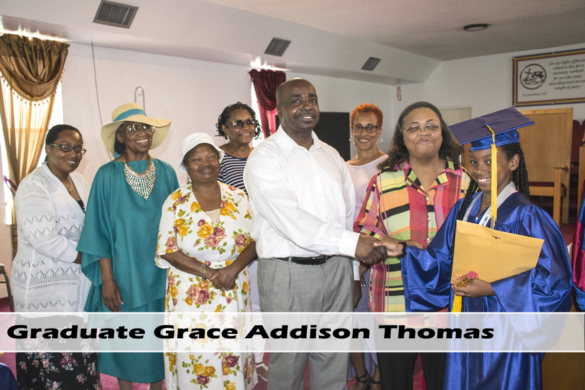 Slide 2: Graduate Grace Addison Thomas