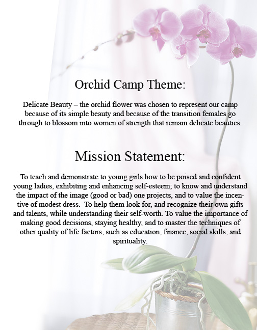 Orchids meesage